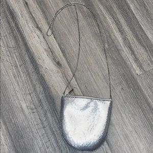 UO silver sequin bag. Used one time for event. New